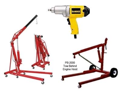 Rent Automotive Tools