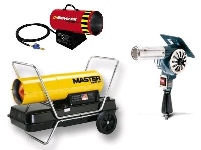 Heater rentals in the Columbus metro area